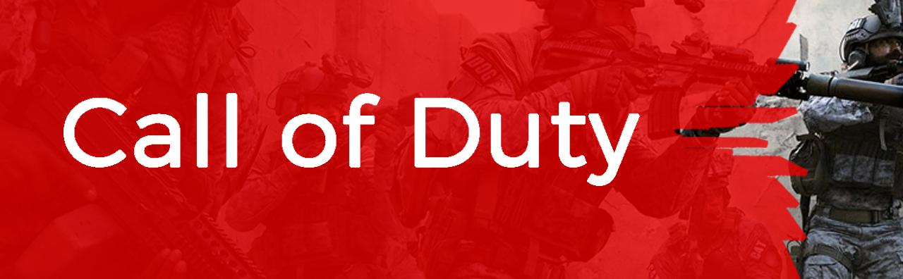 Couverture du pôle Call of Duty