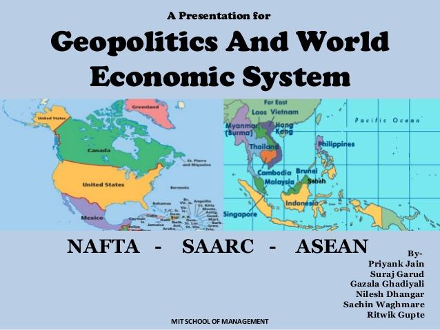 اتفاقيات تجارية رئيسة في العالم (eu– Asean – Nafta ): دراسة تحليلية مقارنة