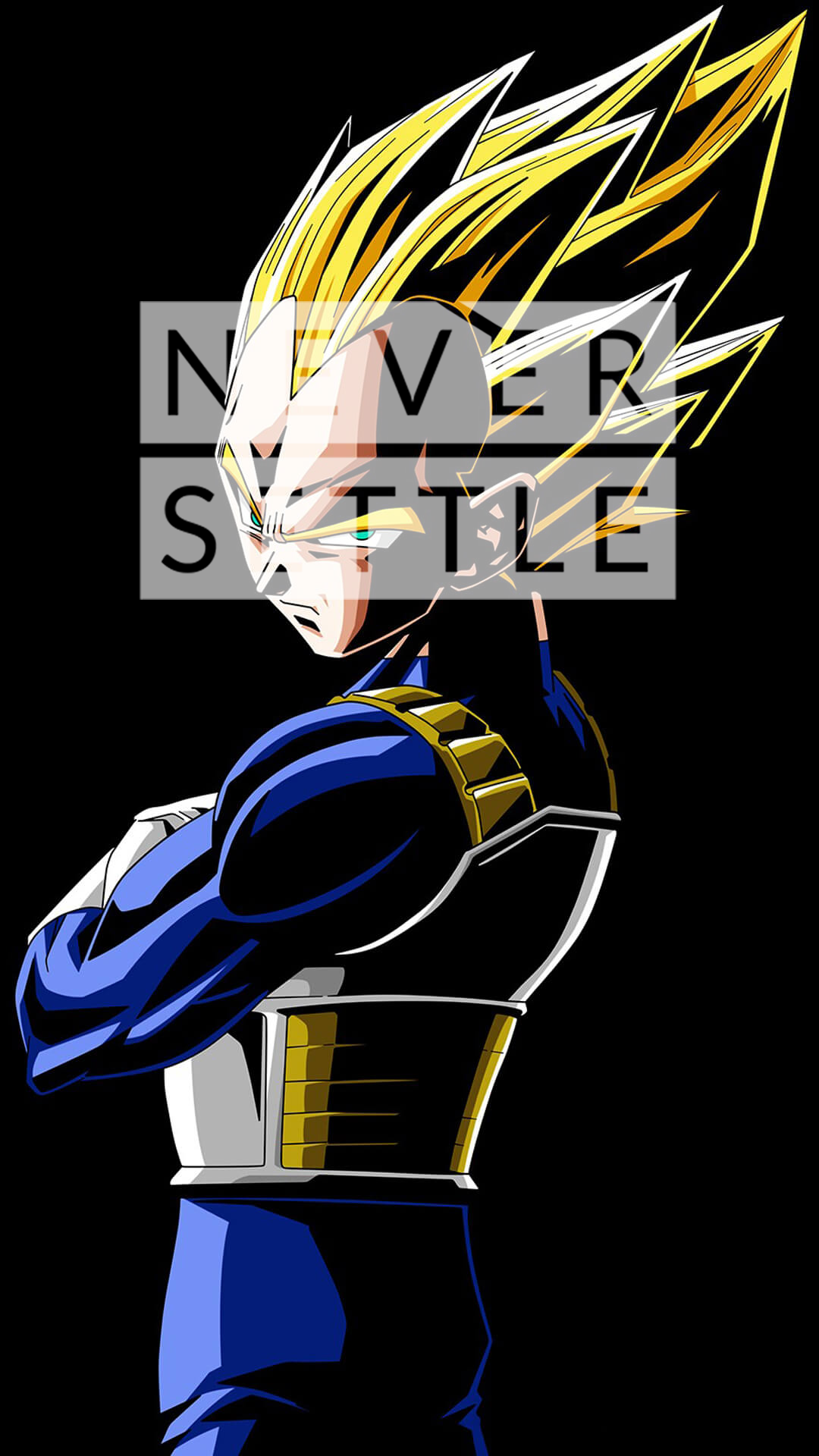 vegeta wallpaper never settle - oneplus forums