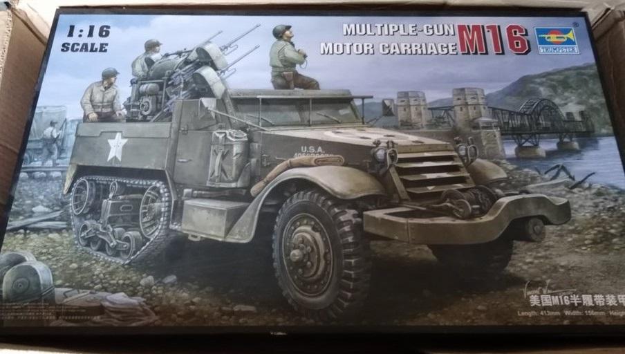 M16 Trumpeter : le boxart