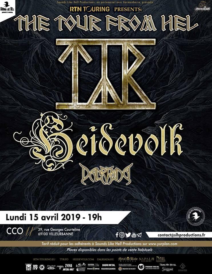TYR [Lyon - 69] > 15-04-2019