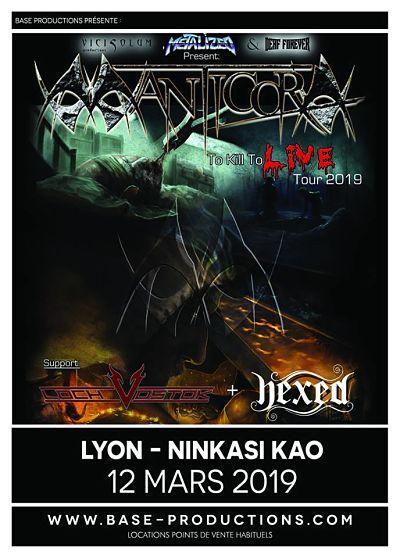 MANTICORA [Lyon - 69] > 12-03-2019