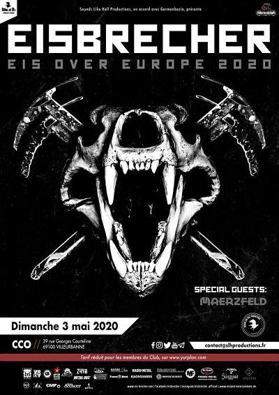 EISBRECHER [Lyon - 69] > 03-05-2020