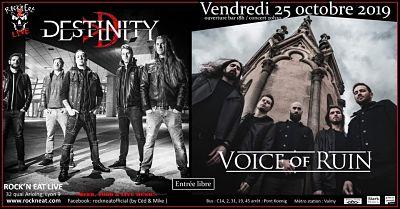 DESTINITY [Lyon - 69] > 25-10-2019