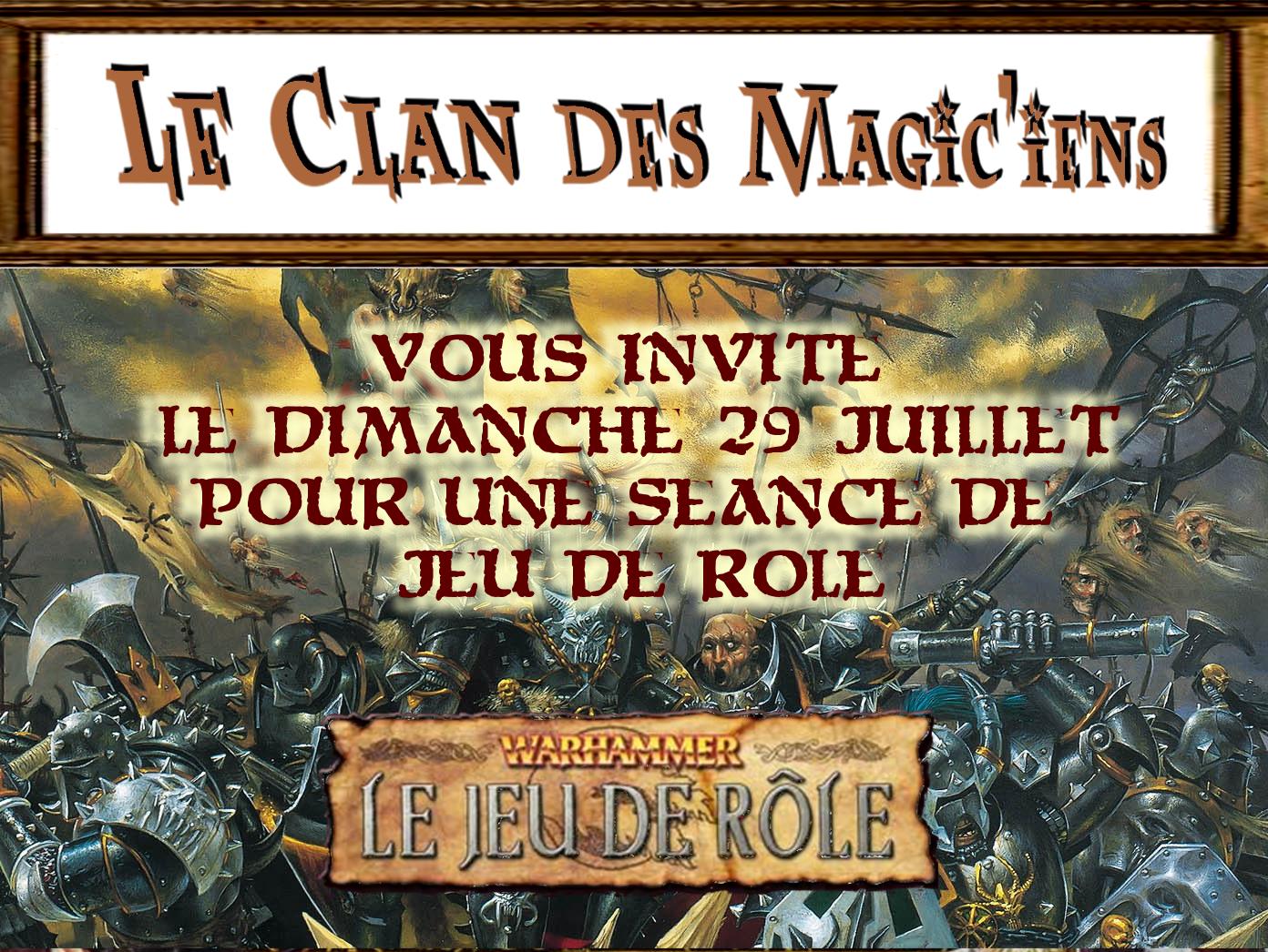 Dimanche 29 Juillet : Jeu de rôle (Warhammer) à partir de 14 h O51ox
