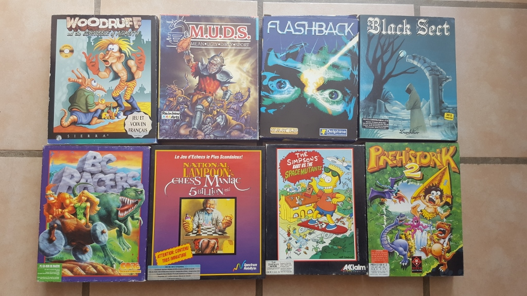Vente ordinateurs et jeux Atari, Amiga, Amstrad et PC MAJ 20/01 O5J2l