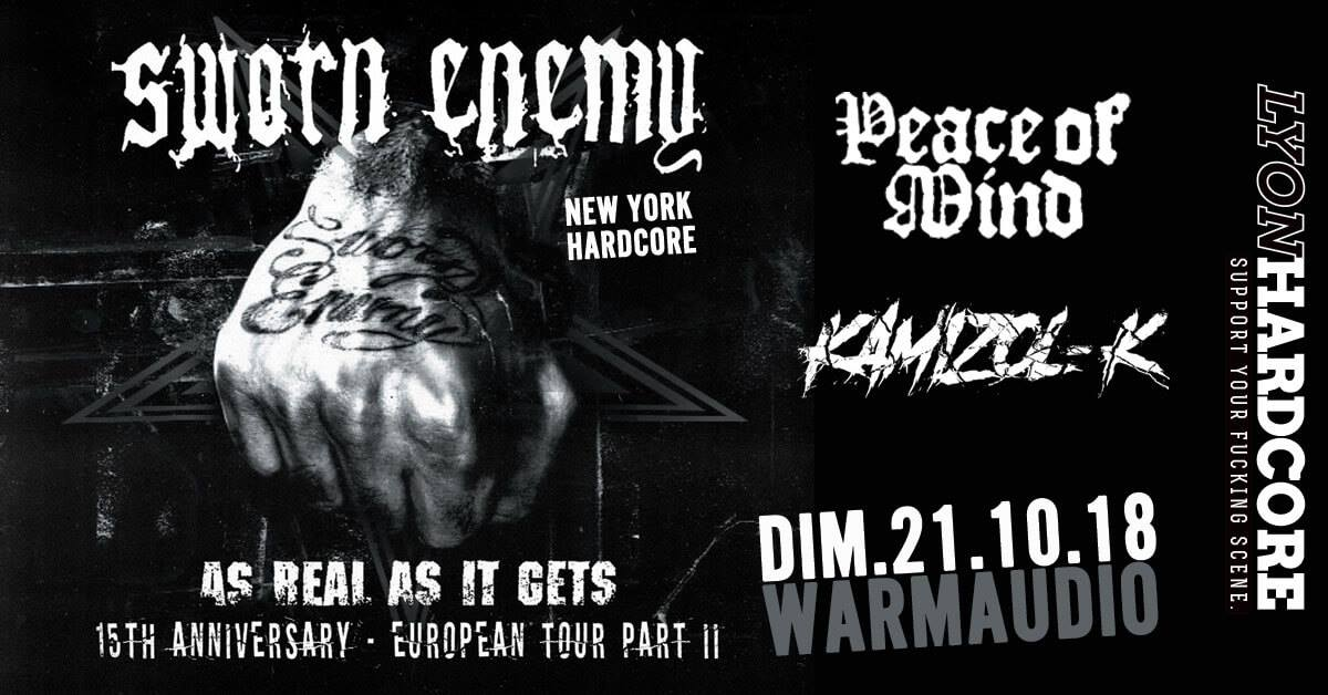 SWORN ENEMY [Décines - 69] > 21-10-2018