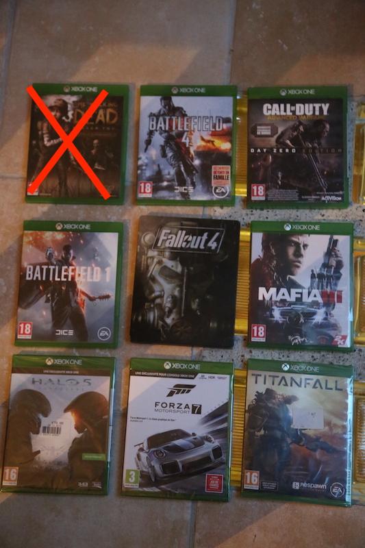 Jeux de Xbox fat, 360 et One! PAm7n