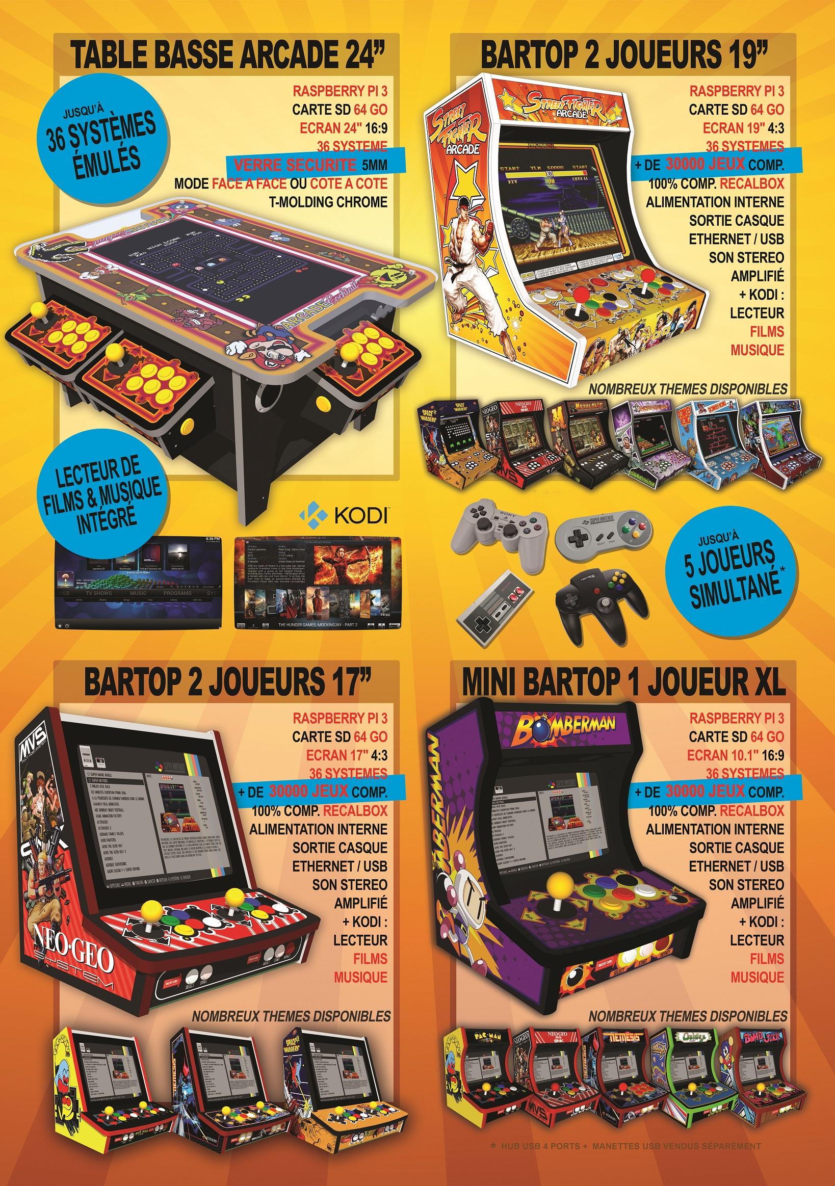 mini bornes arcade rasp 3 - nouveaux modeles PGr7k