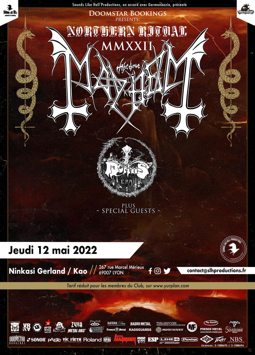THE TRUE MAYHEM [Lyon - 69] > 12-05-2022