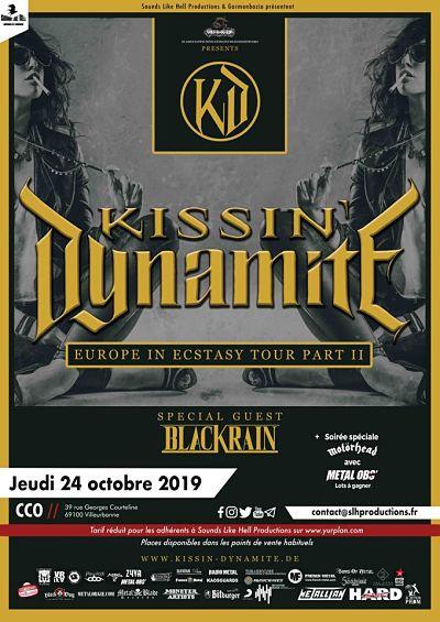 KISSIN DYNAMITE [Lyon - 69] > 24-10-2019