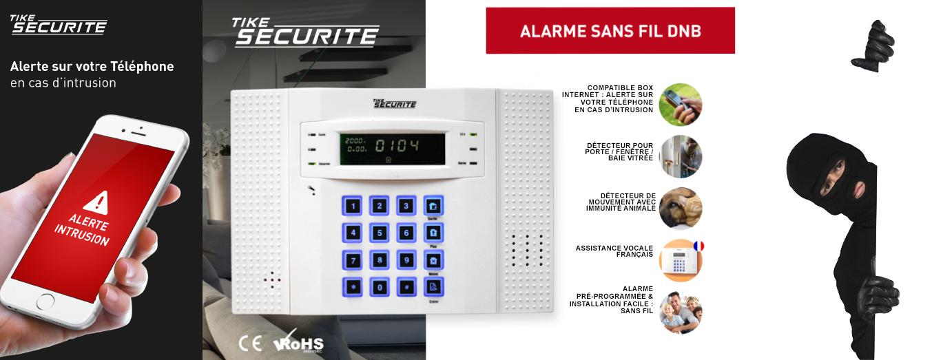 alarme maison sans fil dnb 4 a 5 pieces