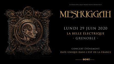 MESHUGGAH [Grenoble - 38] > 29-06-2020