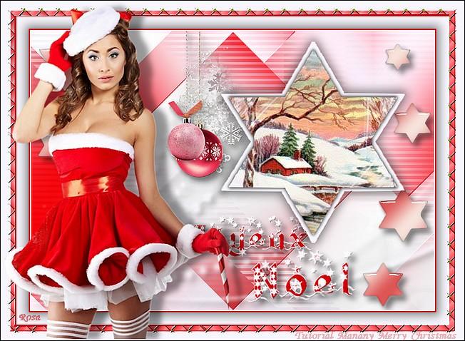 "N°1b Fiestas de fin de año ""Merry Christmas"" QRYp3"