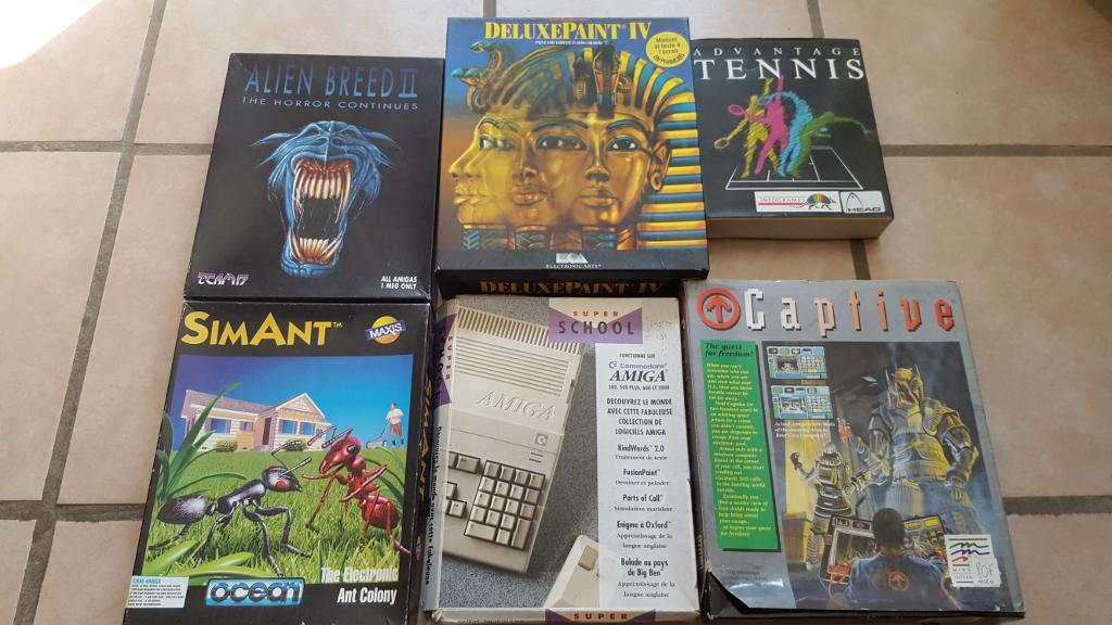 Vente ordinateurs et jeux Atari, Amiga, Amstrad et PC MAJ 20/01 QeVEl