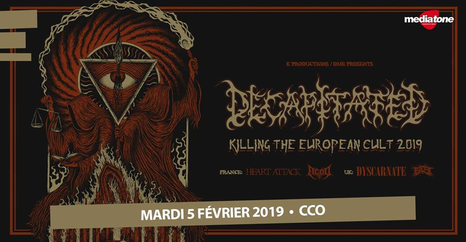 DECAPITATED [Lyon - 69] > 05-02-2019