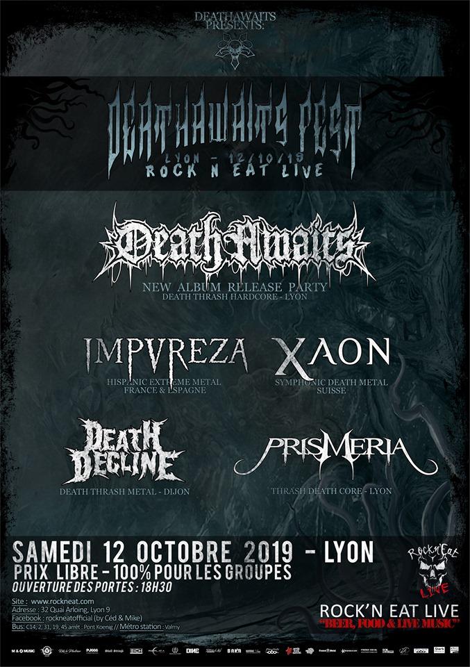 DEATHAWAITS FEST [Lyon - 69] > 12-10-2019