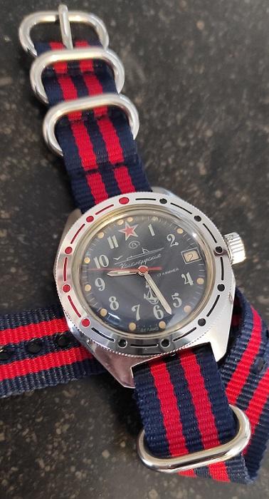 "Vostok ""sous-marins"" Rq7N8"