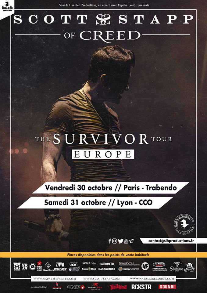 SCOTT STAPP [Paris - 75] > 30-10-2020