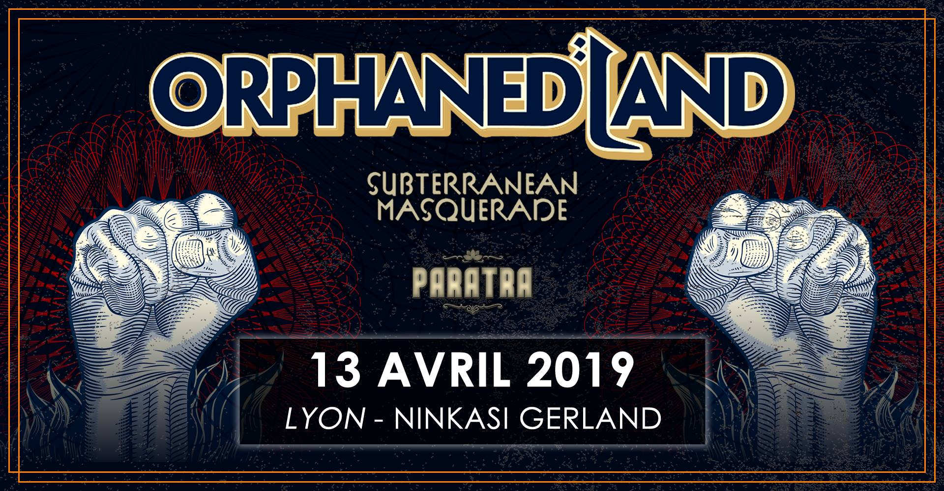 ORPHANED LAND [Lyon - 69] > 13-04-2019