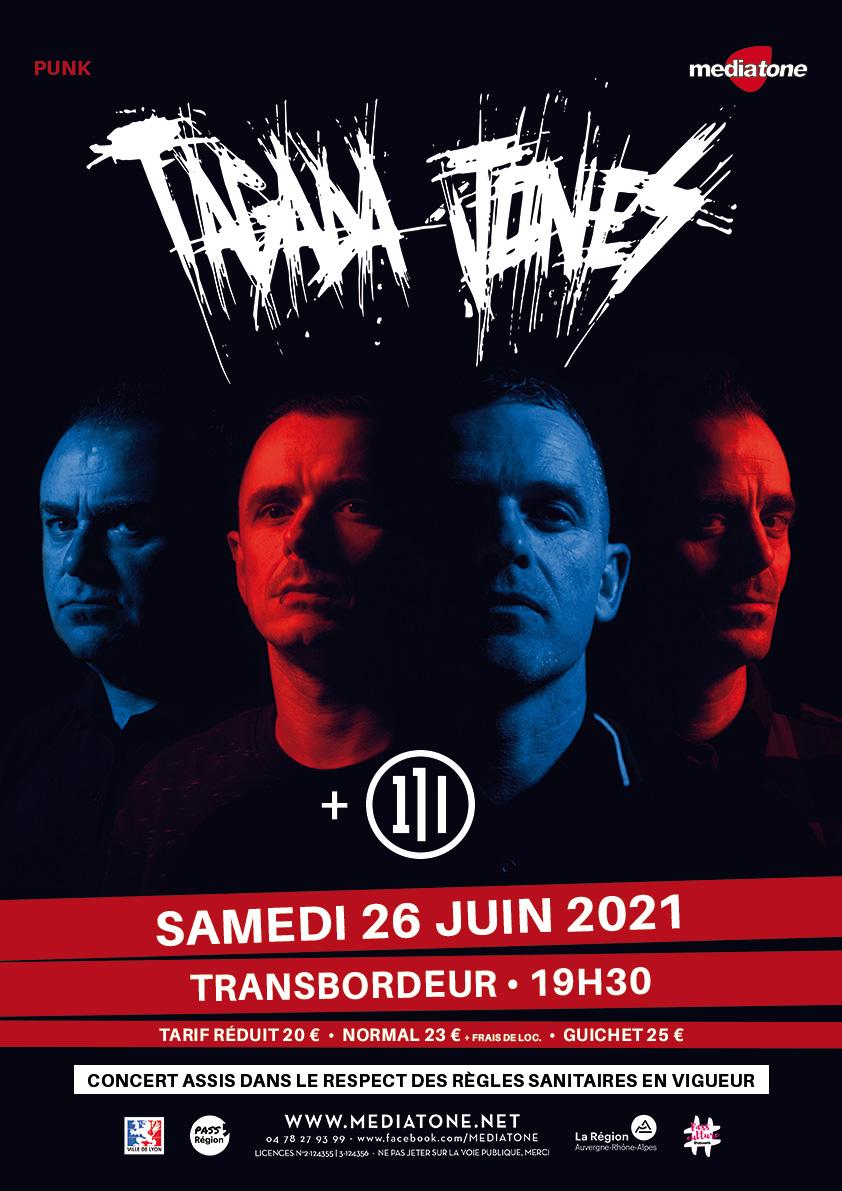 TAGADA JONES [Lyon - 69] > 26-06-2021