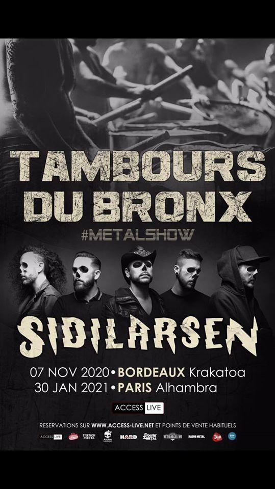 TAMBOURS DU BRONX [Bordeaux - 31] > 07-11-2020