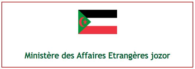 Ministère des affaires étrangères jozor