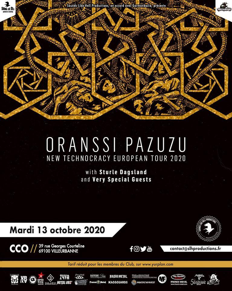 ORANSSI PAZUZU [Lyon - 69] > 13-10-2020