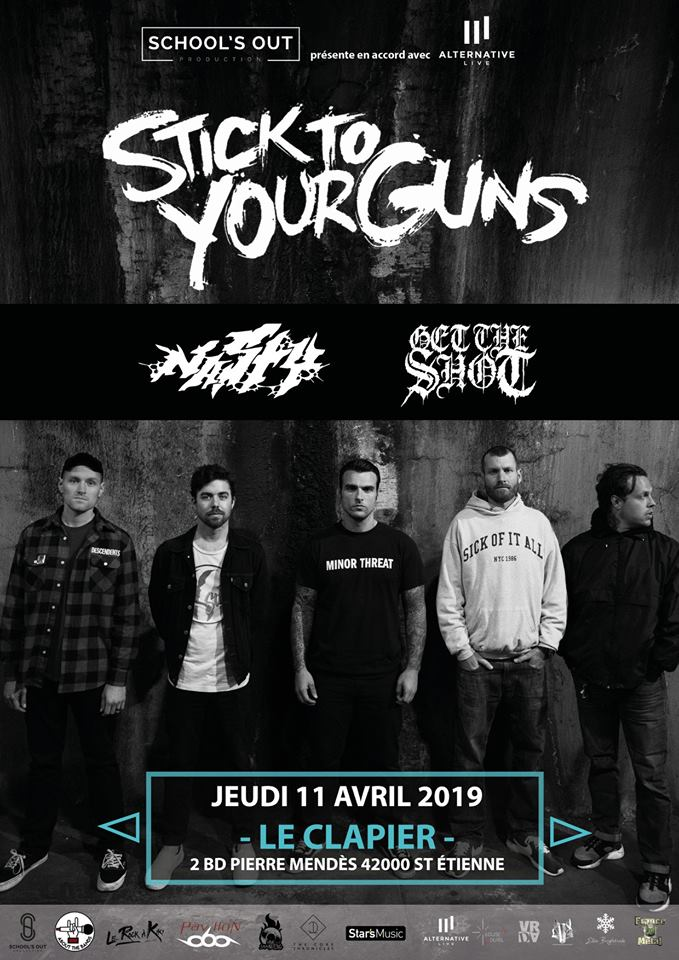 STICK TO YOUR GUNS [St-Etienne - 42] > 11-04-2019