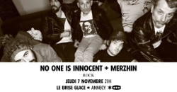 NO ONE IS INNOCENT [ANNECY - 74] > 07-11-2019