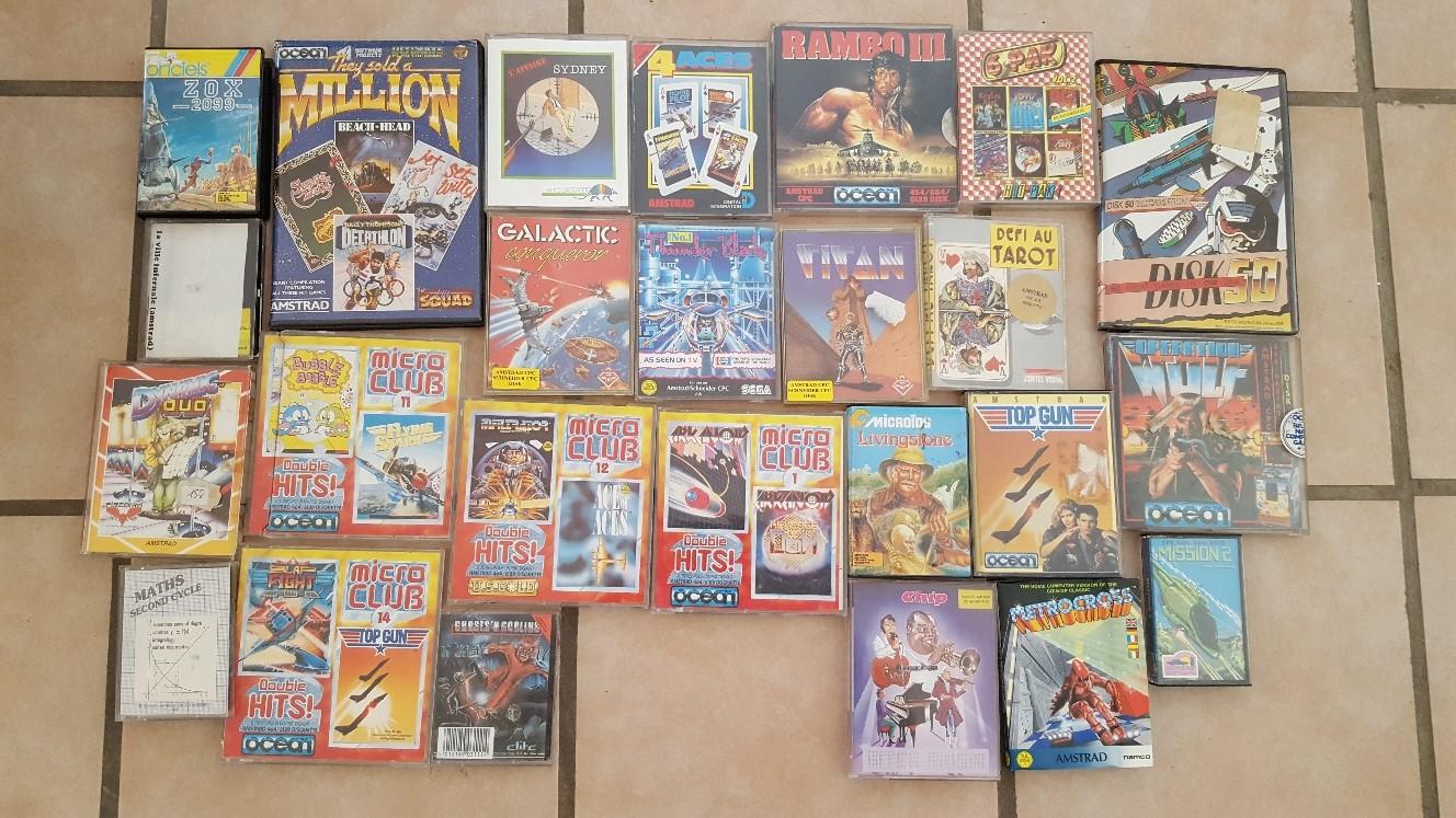 Vente ordinateurs et jeux Atari, Amiga, Amstrad et PC MAJ 20/01 X2YnX