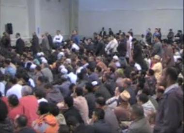 Conférence du cheikh Ghassen Khalil Mohamed Musallam au centre Tawhid, bastion de l'Islam Radical à Saint-Denis :
