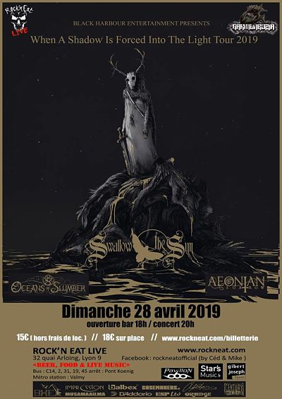 SWALLOW THE SUN [Lyon - 69] > 28-04-2019