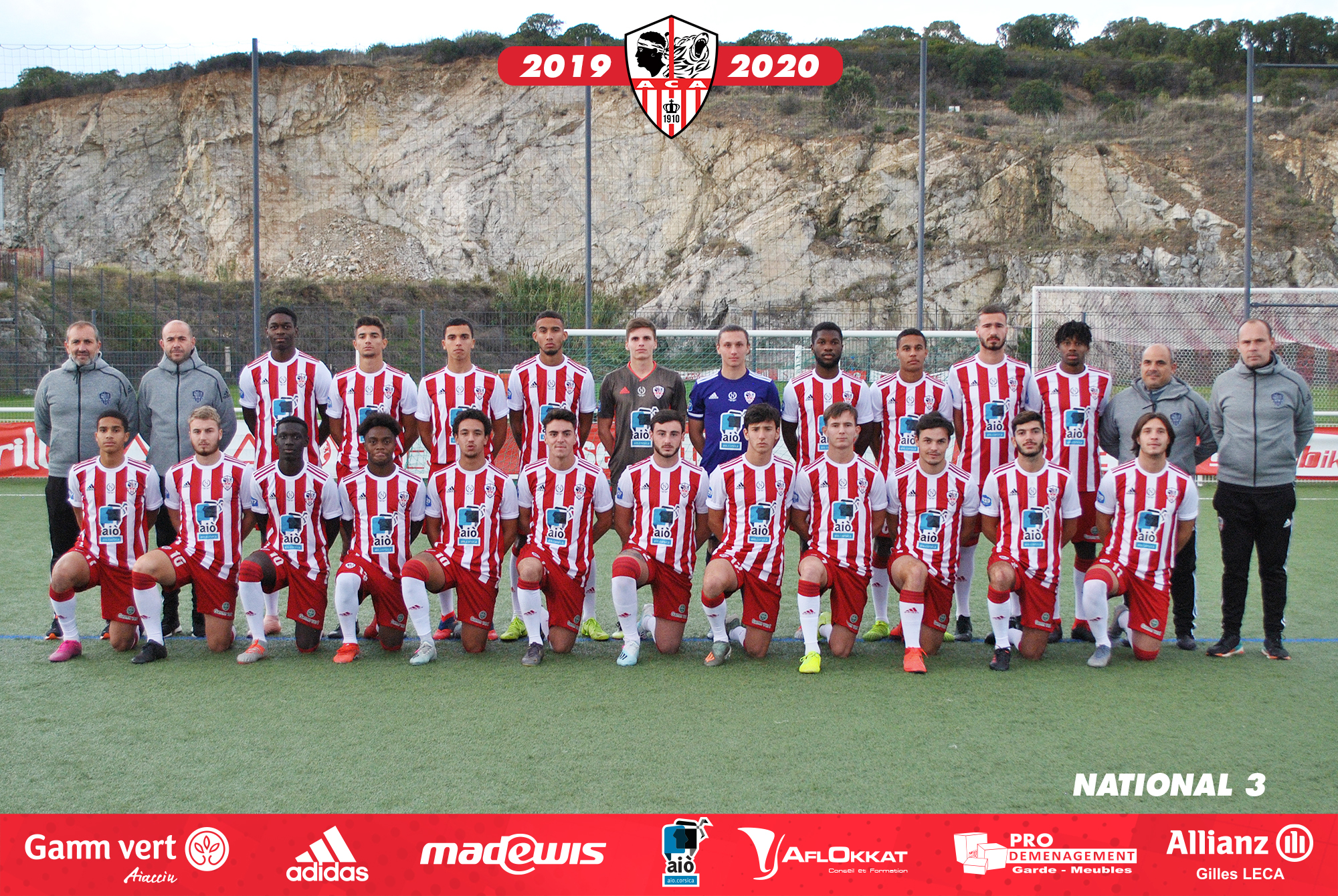 Equipe National 3 AC Ajaccio 2019-20