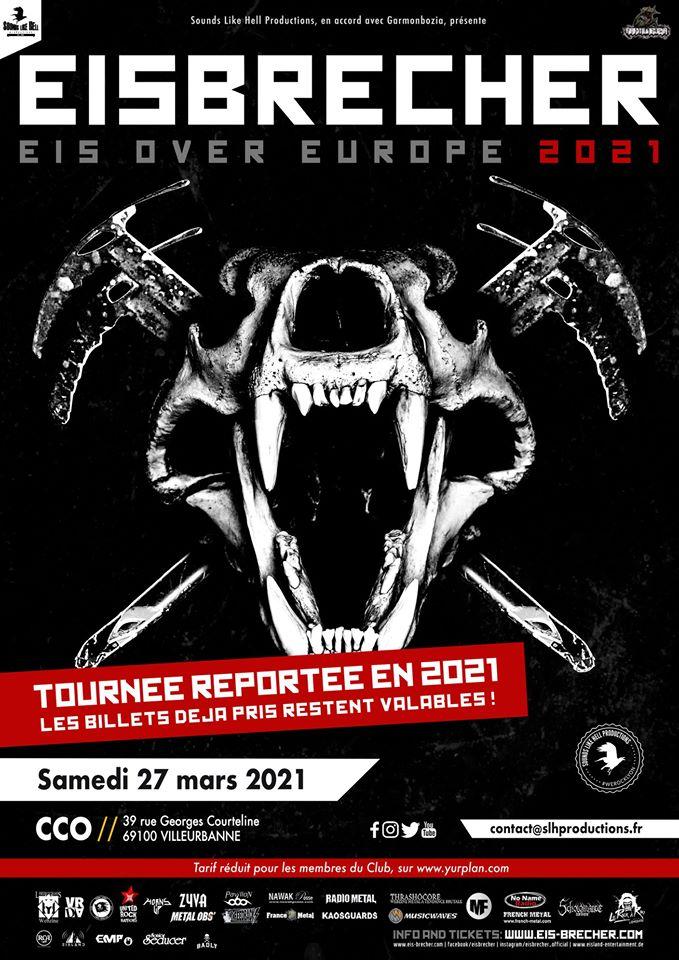 EISBRECHER [Lyon - 69] > 27-03-2021