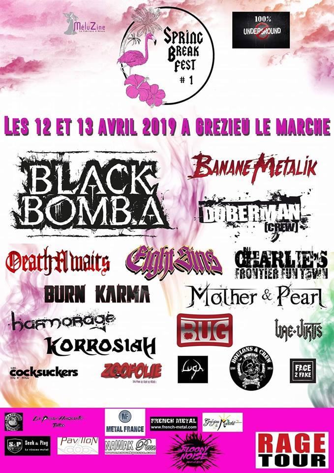 SPRING BREAK FEST 1 [GREZIEU LE MARCHE - 69] > 12-04-2019