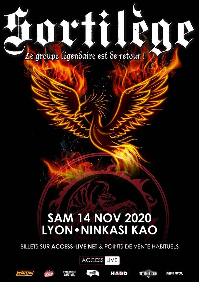 SORTILEGE [Lyon - 69] > 14-11-2020