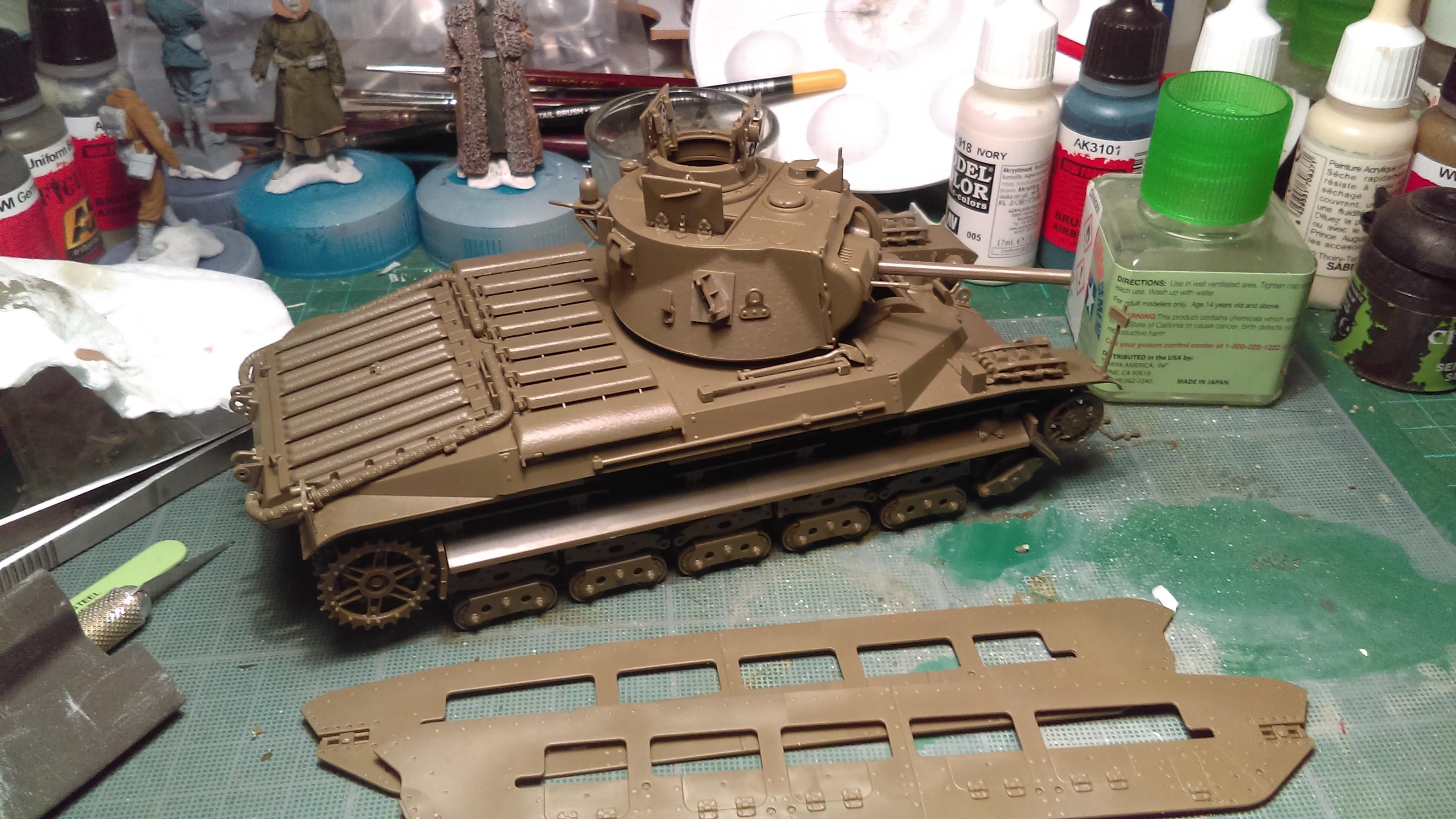 MATILDA Mk III/IV CS Red Army LEND-LEASE ACT - TAMIYA 1/35  N° 335 Y47wE