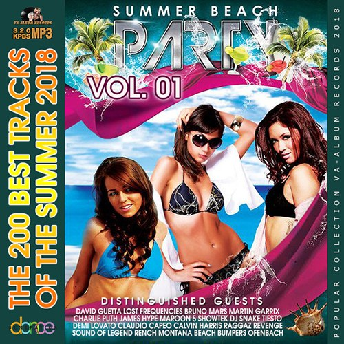 Summer Beach Party Vol 1 (2018) 10 CD [Mp3-320Kbps]