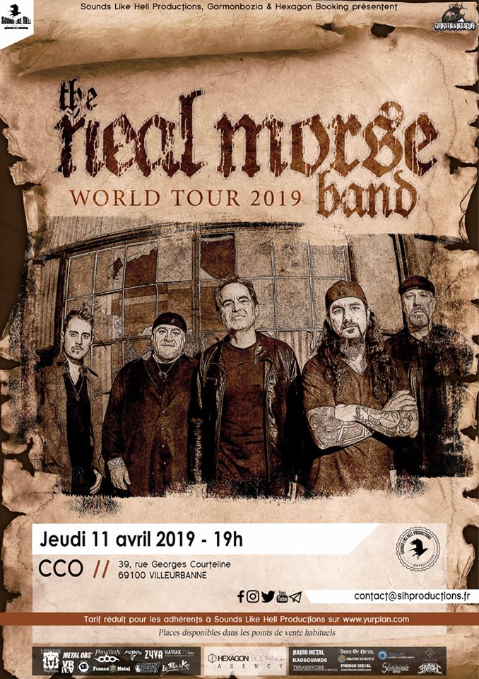 THE NEAL MORSE BAND [Lyon - 69] > 11-04-2019