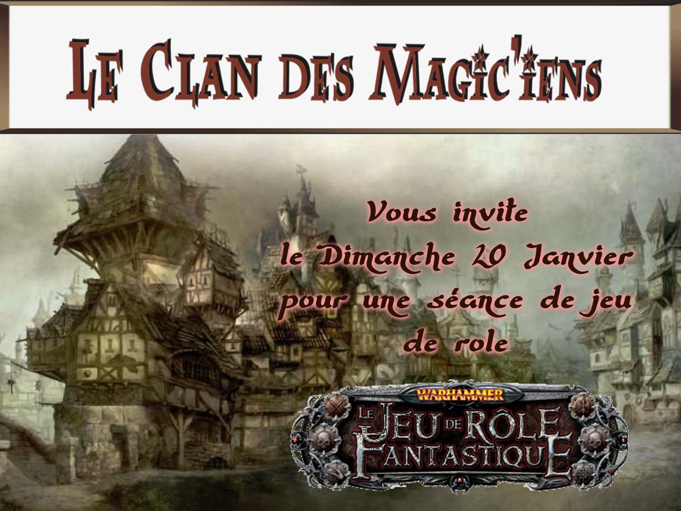Dimanche 20 Janvier : Jeu de rôle (Warhammer ou autre jdr) à partir de 14h YxgAd