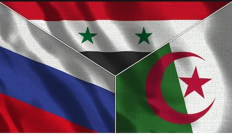 Explaining russia and algeria backing of the syrian government