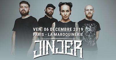 JINJER [Paris - 75] > 06-12-2019