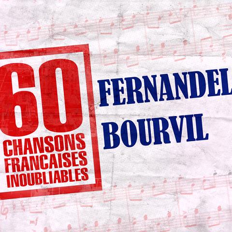Fernandel & Bourvil 60 Chansons Françaises inoubliables (4CD) [Mp3-320Kbps]