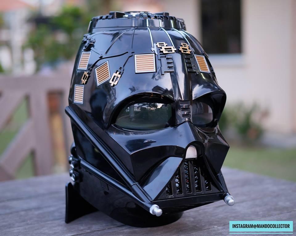 Casque Black Serie Vader 1:1 ZvWQG