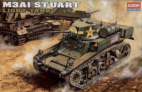 """ACADEMY 1/35 M3A1 STUART """"USMC SATAN"""" A2g3G"""