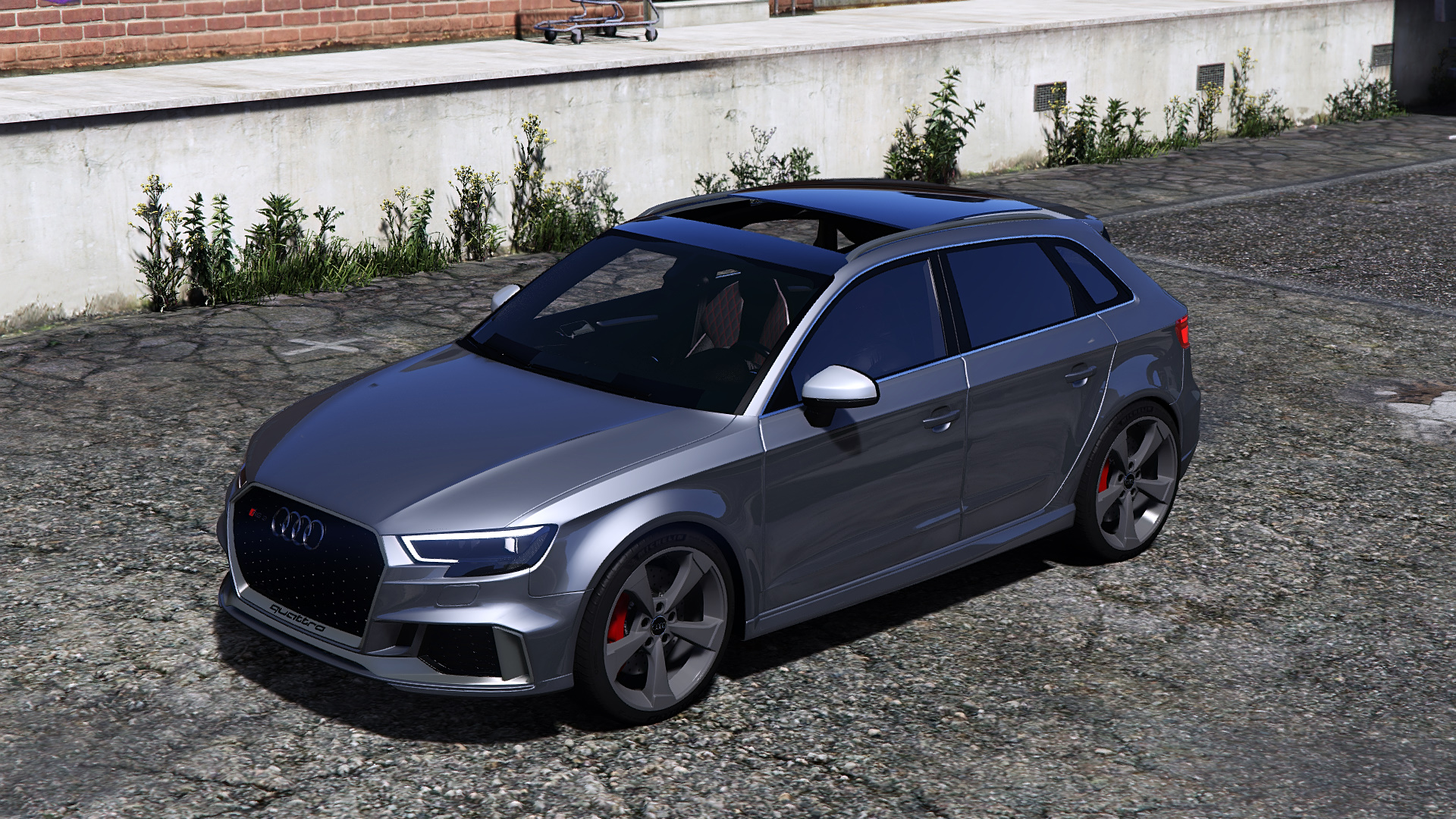 release vehicle audi rs3 2018 sportback gta5 forums. Black Bedroom Furniture Sets. Home Design Ideas