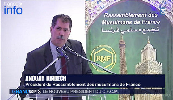 Anouar Kbibech, nouveau président du CFCM, diffuse avec le Rassemblement des Musulmans de France, l'islam rigoriste des prédicateurs marocains : voile islamique obligatoire, coups de fouet, meurtre des apostats, combattre et égorger proprement les Infidèles dans Politique aKgJ0