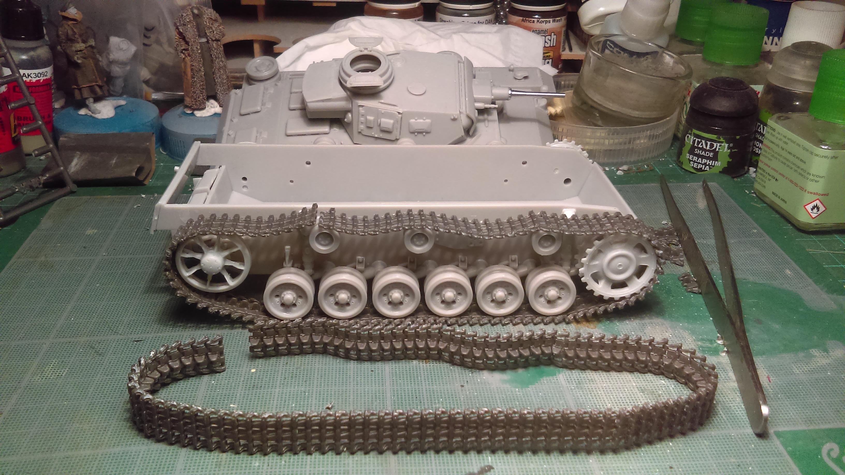 PANZER III J 5 cm KURTZ D.A.K 1/35 REVELL ALVNk