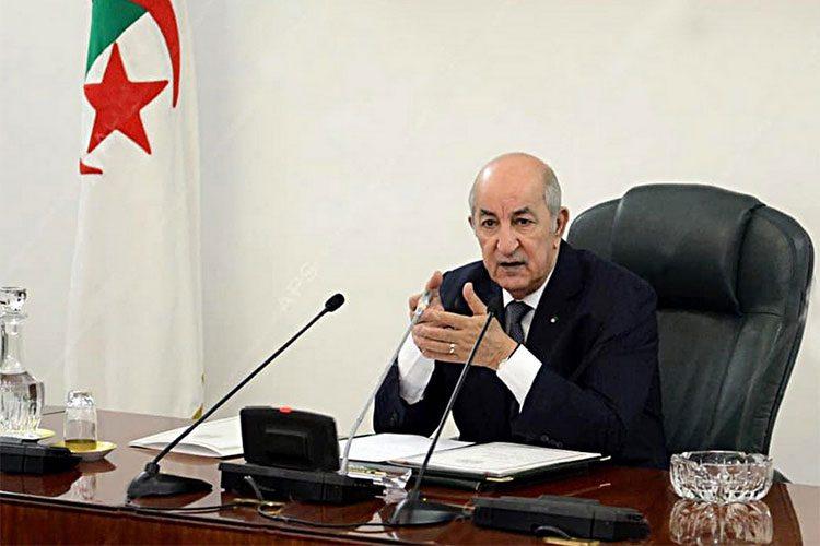 عرض مخطط عمل الحكومة الجزائرية من أجل تنفبذ برنامج رئيس الجمهورية – فيفري 2020